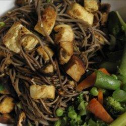 Quick Soba Stir Fry With Tofu recipe