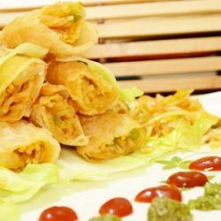 Noodles Spring Rolls | Spring Rolls | Veg Spring Rolls recipe