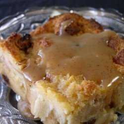 Creole Bread Pudding With Bourbon Sauce recipe