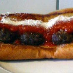 Healthier Meatball Subs recipe