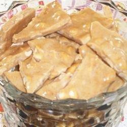 Cinnamon Peanut Brittle recipe