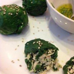 Chicken Spinach Ricotta and Hazelnut Balls recipe
