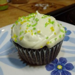 Blackberry Cupcakes With Matcha Cream Cheese Frosting recipe