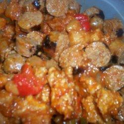 Sweet N Sour Spicy Sausage recipe