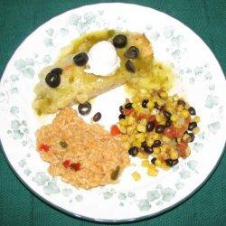 Chicken Enchiladas Verdi recipe