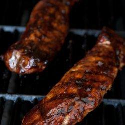 Barbecued Pork Tenderloin recipe