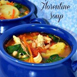 Florentine Chicken Soup recipe
