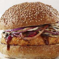 Asian Chicken Burgers recipe
