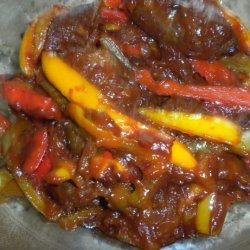 Italian Style Sausage and Peppers recipe