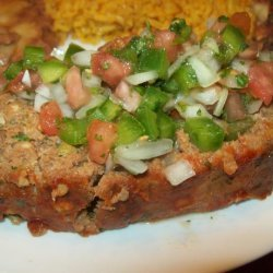 Mexican Miggy Meatloaf recipe