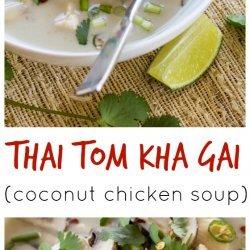 Thai Chicken Coconut Soup recipe