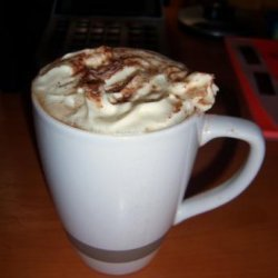Hazelnut Hot Chocolate Liqueur recipe