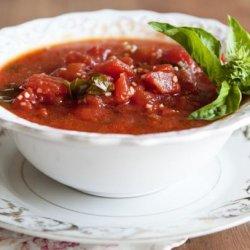 Chef's Tomato Basil Soup recipe