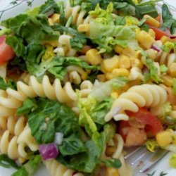Spring is Finally Here Pasta Salad recipe