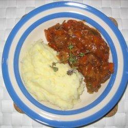 Beef Casserole With Semi Sun-Dried Tomatoes recipe
