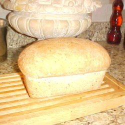 Bread Machine Wheat Bread With Flax Seed recipe