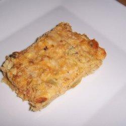 Salmon Artichoke Bake recipe