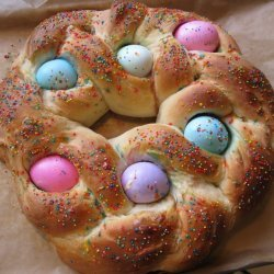 Easter Bread Ring recipe