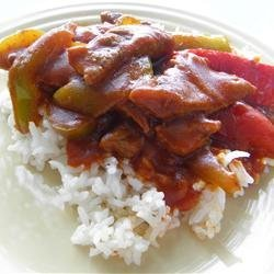 Chinese Pepper Round Steak recipe