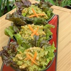 Thai Curry Pork Lettuce Wraps (Nam Prik Ong) recipe