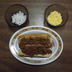 Not so Sloppy Hot Dogs recipe