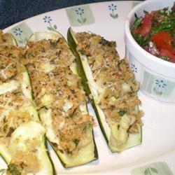 Stuffed Zucchini II recipe