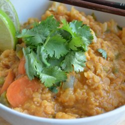 Curried Red Lentils recipe