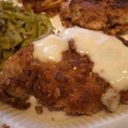 Walnut Chicken With Dijon Cream Sauce recipe