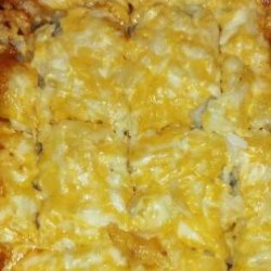 Cheesy Chili Hash Brown Bake recipe