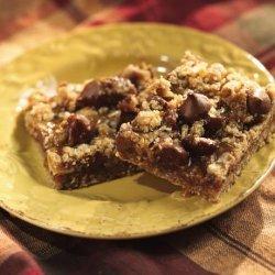 Caramel Oatmeal Bars recipe