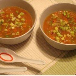 Vegetarian Manchow Soup recipe