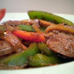 Turkey Sausage & Peppers recipe
