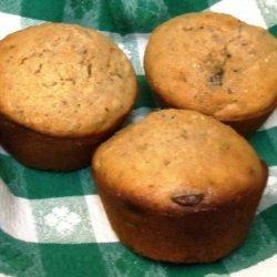 Whole Wheat Chocolate Chip Muffins recipe