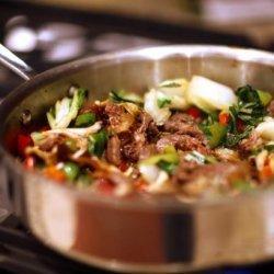 Stir Fry Maitake Mushroom & Beef With Oyster Sauce recipe