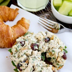Chicken Salad Croissants recipe