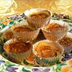 Mini Cocoa Swirl Cheesecakes (Vegan) recipe