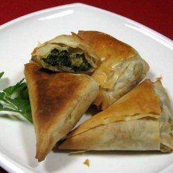 Mild Spanakopita recipe