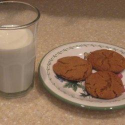 Sarah's Favorite Molasses Spice Cookies recipe