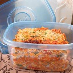 Chicken Vegetable Lasagna recipe