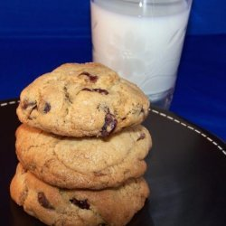Cranberry, Bittersweet Chocolate Chip Cookies in a Jar Mix recipe