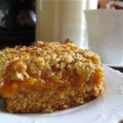 Gluten Free Rustic Apricot Slice recipe