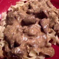Greeny's Crock Pot Beef Stroganoff recipe
