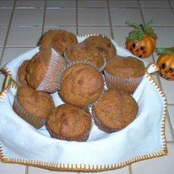 Pumpkin Muffins With Raisins recipe