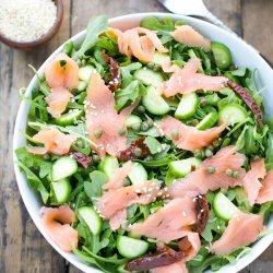 Smoked Salmon Salad recipe