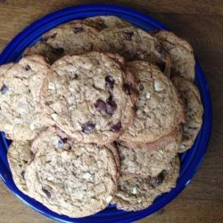 Gluten-Free Almond Butter Chocolate Chip Cookies recipe