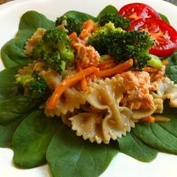 Delicious Salmon Pasta Salad recipe