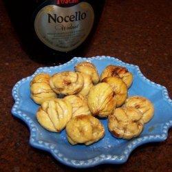 Glazed Roasted Chestnuts recipe