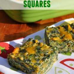 Spinach and Cheese Squares recipe