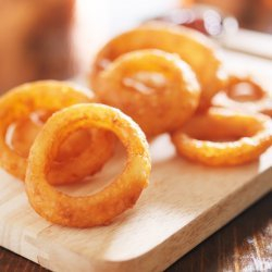 Oven Fried Onion Rings recipe