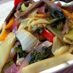 Veggie Beef Stir-Fry recipe